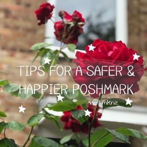 ✨ PSA: TIPS FOR A SAFER POSHMARK EXPERIENCE ✨